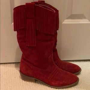 Diba Red Cowboy Boots